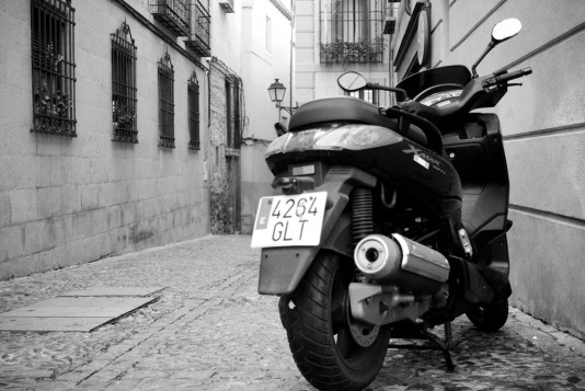 Motorcycle - Toledo, Spain