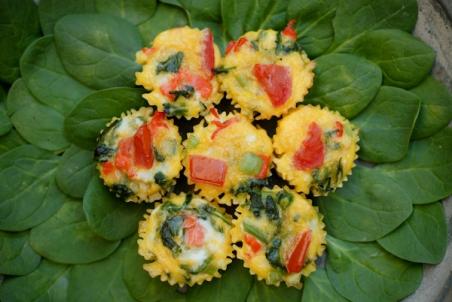 Smoked Salmon Frittata Muffins